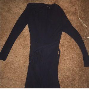 Reformation Navy Maxi dress